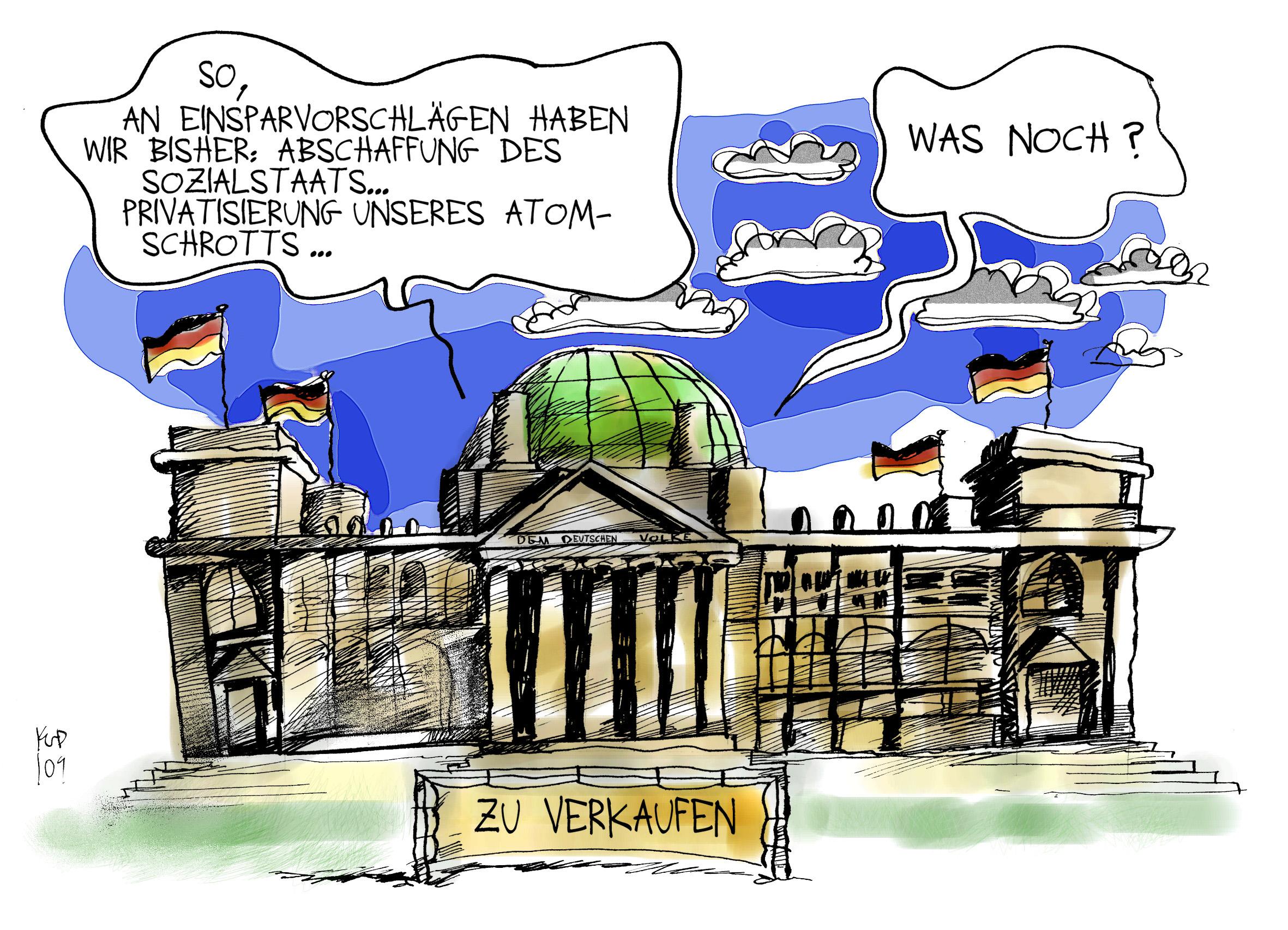 Deutschland vor Rundumprivatisierung!